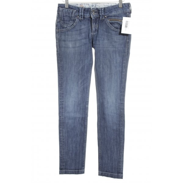 Meltin Pot Slim Jeans dunkelblau Street-Fashion-Look