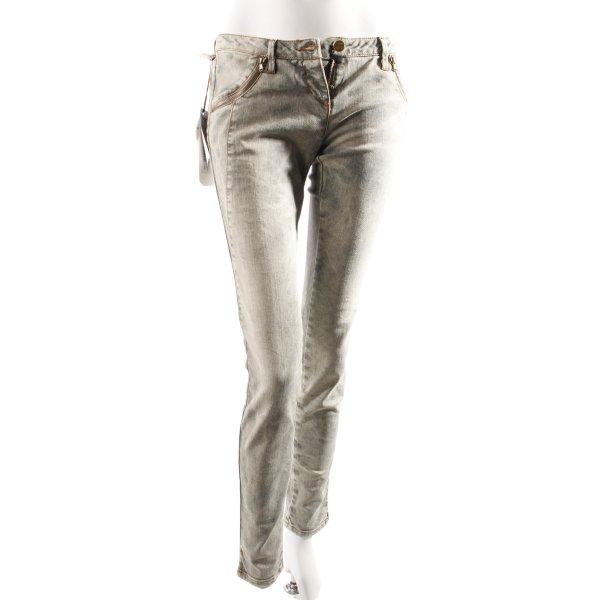 MET Skinny Jeans graugrün
