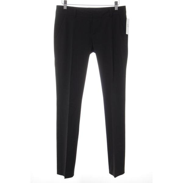 Mexx Pantalon à pinces noir style d'affaires