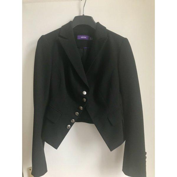 Mexx Kurz-Blazer schwarz Vintage-Look