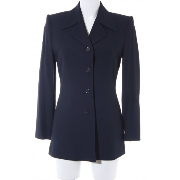 Mexx Long-Blazer dunkelblau Business-Look