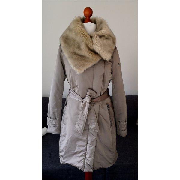 Mexx Mantel mit Fake Fake Fur in Gr 38