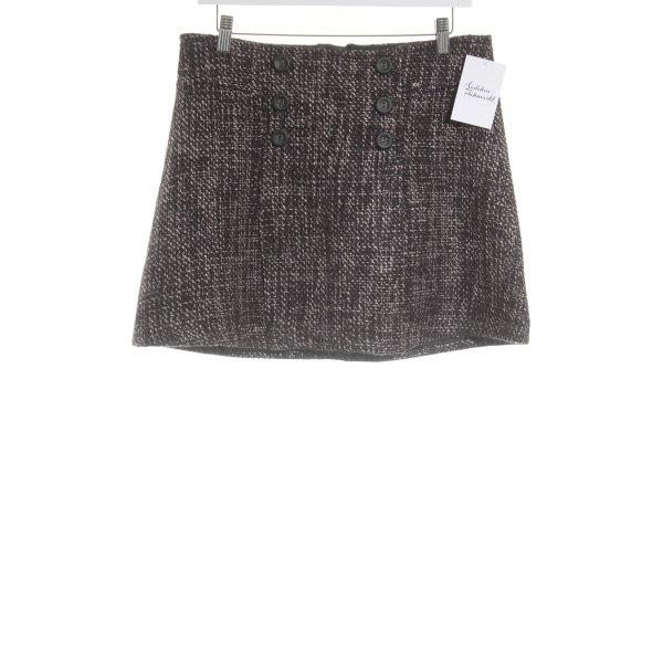 Mexx Jupe tricotée motif pied-de-poule style mode des rues