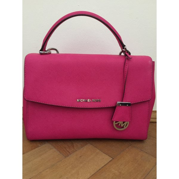 Michael Kors Carry Bag pink leather