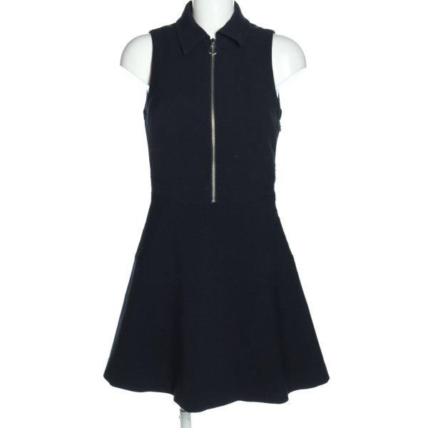 Michael Kors A-Linien Kleid blau Casual-Look