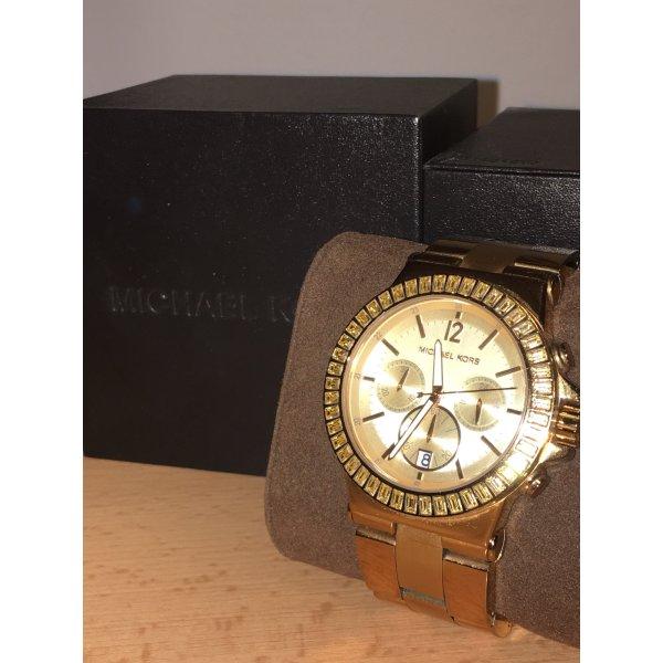 Michael Kors Zegarek z metalowym paskiem Wielokolorowy