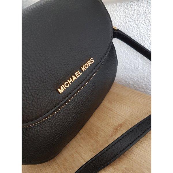 Michael Kors Bandolera color oro-negro Cuero