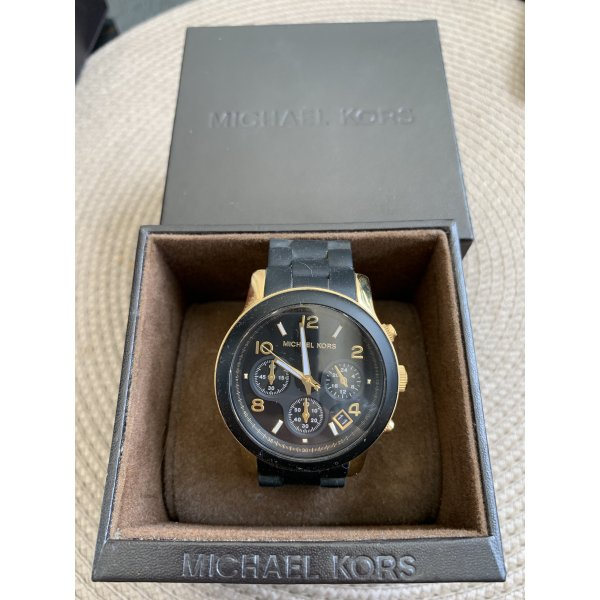 Michael Kors Black Catwalk Uhr