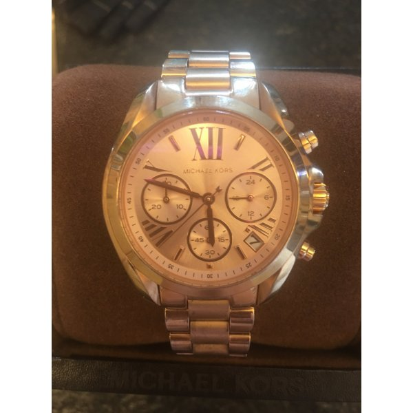 Michael Kors Damenuhr in rose goldfarben