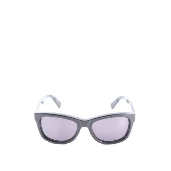 "Michael Kors eckige Sonnenbrille ""Madison"" schwarz"