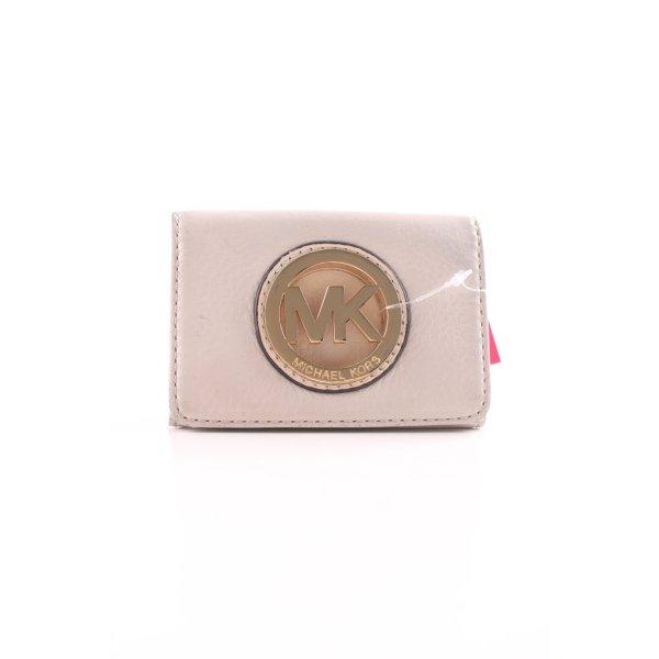 Michael Kors Geldbörse hellbeige-goldfarben schlichter Stil