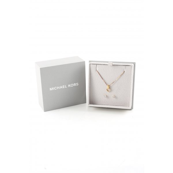 Michael Kors Halskette goldfarben Business-Look