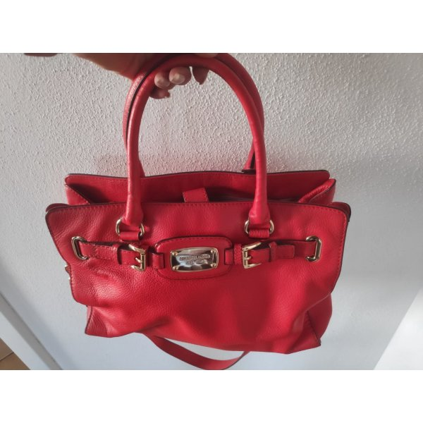 Michael Kors Hamilton East West Large rot