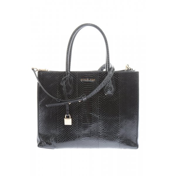 Michael Kors Henkeltasche schwarz Animalmuster Business-Look