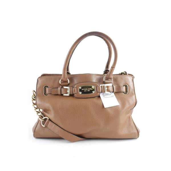 Michael Kors Carry Bag gold-colored-cognac-coloured elegant