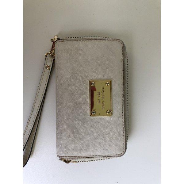 Michael Kors iPhone Tasche Clutch beige