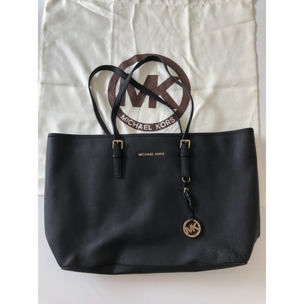 Michael Kors Jet Set Travel (schwarz)