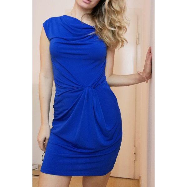 Michael Kors Sukienka midi niebieski