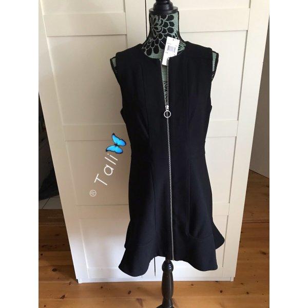 Michael Kors Kleid  Schwarz Silber  M 38 10