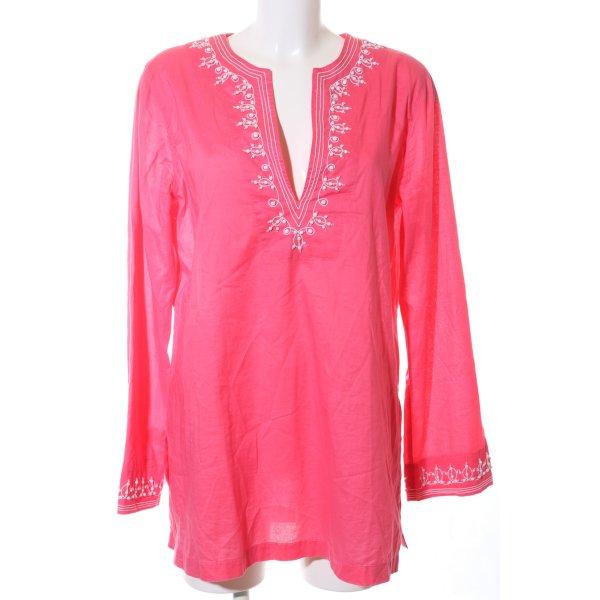 Michael Kors Langarm-Bluse pink Casual-Look