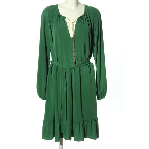 Michael Kors Langarmkleid grün Casual-Look