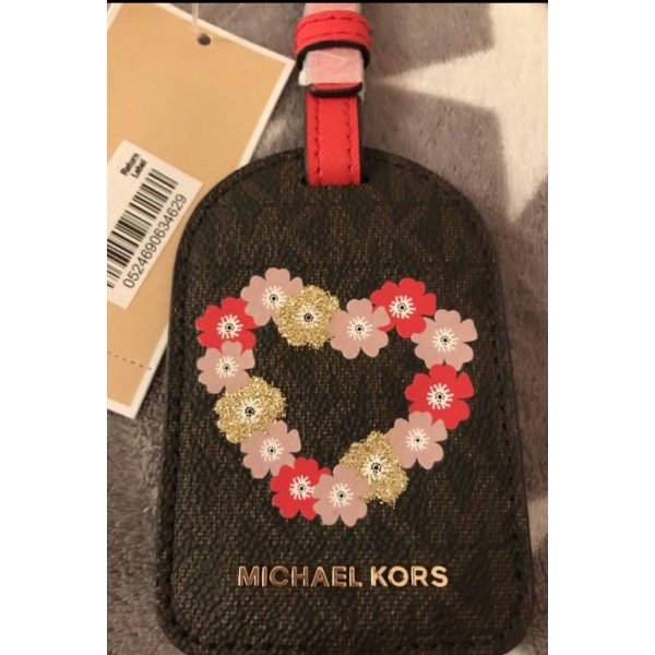 Michael Kors Porte-clés brun