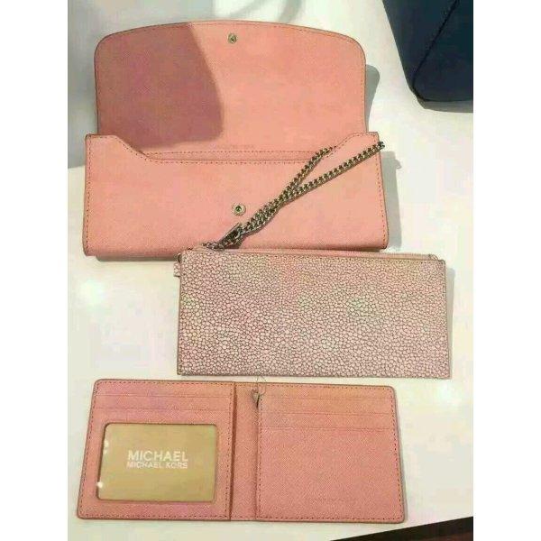 Michael Kors LG Flap Wallet Geldbeutel 3 in 1 Leder Tasche Bag Case Clutch Etui