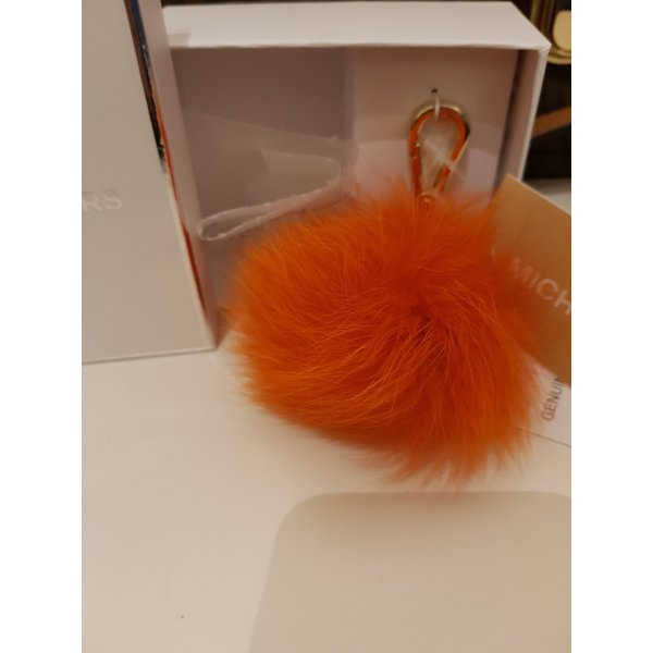 Michael Kors Porte-clés orange pelage