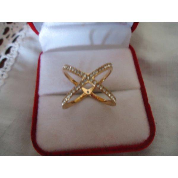 Michael Kors Ring Gold Zirkonia