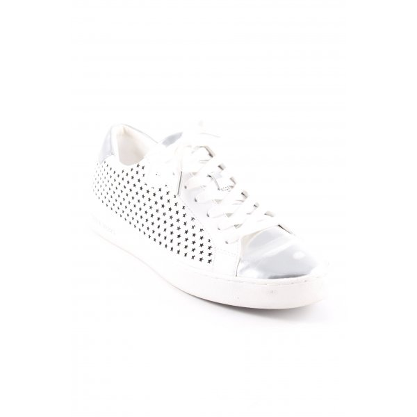 "Michael Kors Schnürsneaker ""Irving Lace Up Optic White"""