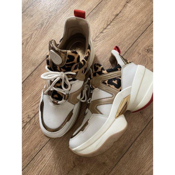 Michael Kors sneaker  Olympia Trainer Optic White/Natural