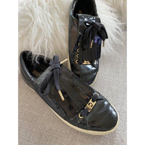 Michael Kors sneaker schwarz lack