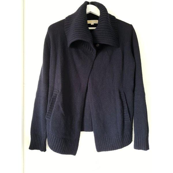 MICHAEL KORS Stick-Cardigan/-Jacke, Gr.XS, dunkelblau