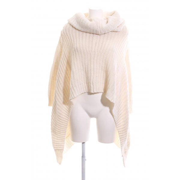 Michael Kors Strickpullover creme Zopfmuster Casual-Look