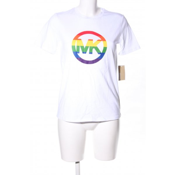 "Michael Kors T-Shirt ""Rainbow Pride Cotton Shirt"""
