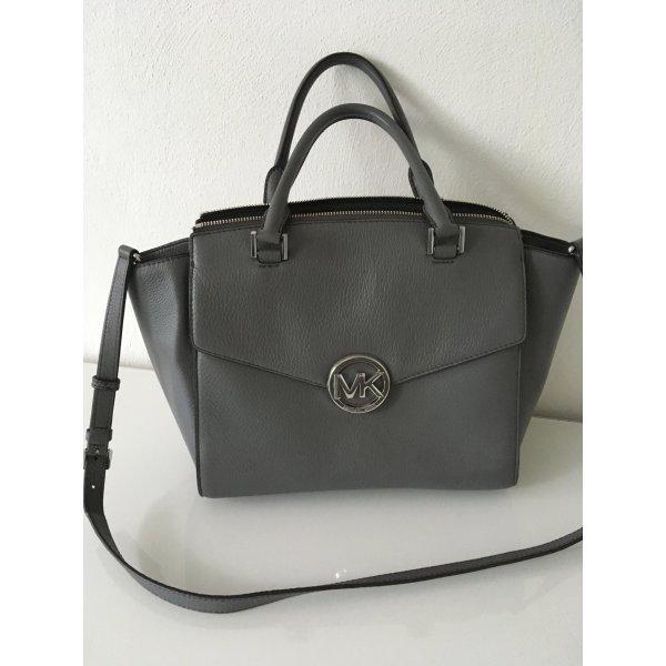 Michael kors Tasche Handtasche grau Silber Blogger Fashion