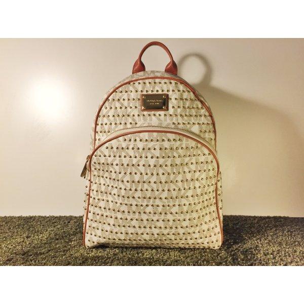 michael kors tasche rucksack mit mk logo und nieten m dchenflohmarkt. Black Bedroom Furniture Sets. Home Design Ideas