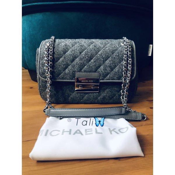 Michael Kors Tasche Sloan Large LG  Farbe: Grau Silber Filz Felt