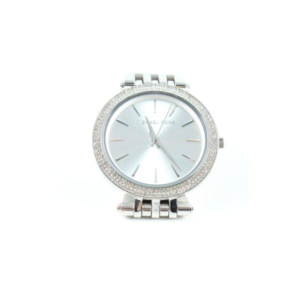 Michael Kors Uhr mit Metallband silberfarben Business-Look