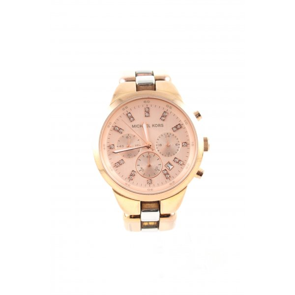 Michael Kors Uhr mit Metallband goldfarben Business-Look