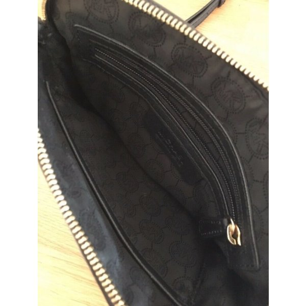 MICHAEL KORS - Umhängetsche Cross Body Bag schwarz Saffianleder