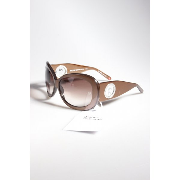 Michele Diamond Sonnenbrille braun