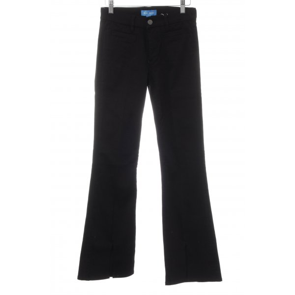 Mih jeans Boot Cut Jeans schwarz Casual-Look
