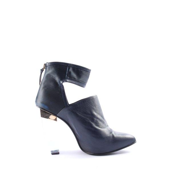 Miista Hochfront-Pumps schwarz extravaganter Stil