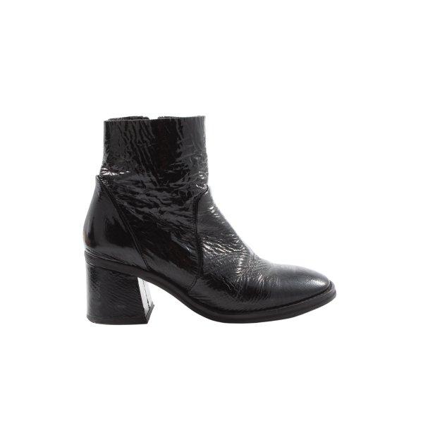 Miista Reißverschluss-Stiefeletten schwarz Elegant