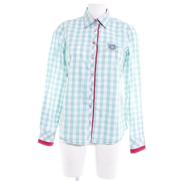 Milano Italy Hawaiihemd weiß-mint