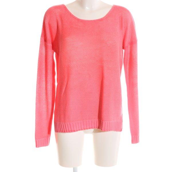 Minimum Strickpullover pink Casual-Look