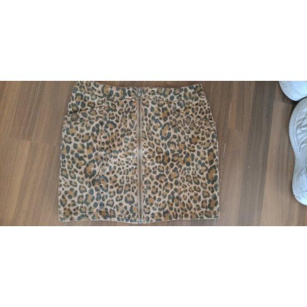 Minirock Leo Leopard H&M 36 Divided