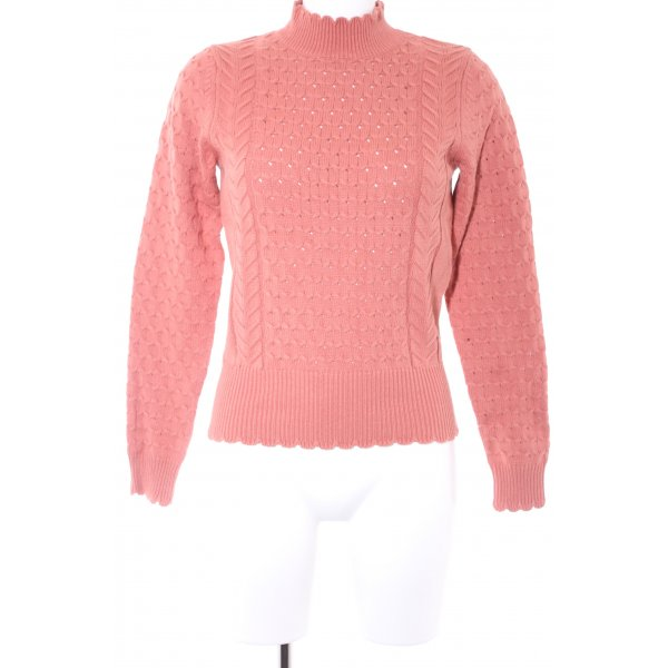 Mint&berry Strickpullover apricot Casual-Look
