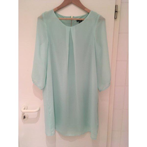 Mintgrünes Chiffon-Kleid von H&M in Größe 40